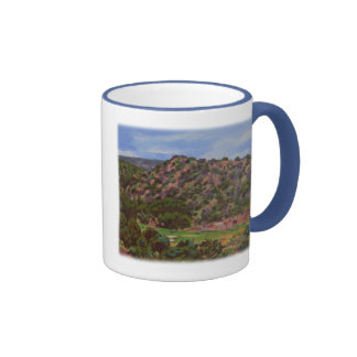 'Horse Canyon' Ringer Coffee Mug