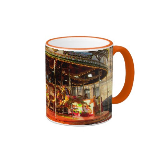 Horse Carousel ride coffee mug
