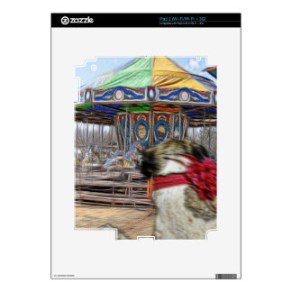 Horse Carousel Skins For The iPad 2