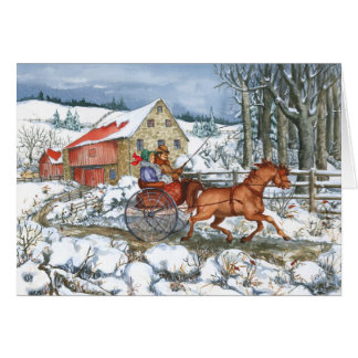 Horse & Carriage Card