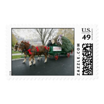 Horse & Carriage Christmas Postage