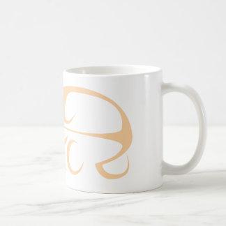 Horse Carriage in Swish Drawing Style Coffee Mug