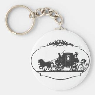 horse carriageb keychain