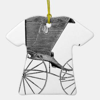 horse-carriages-3-hundred years.jpg adorno navideño de cerámica en forma de playera