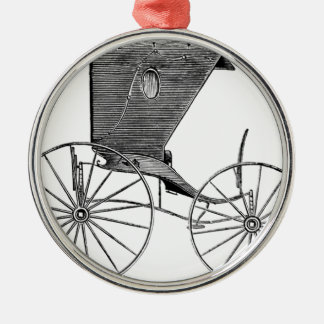 horse-carriages-3-hundred years.jpg adorno navideño redondo de metal