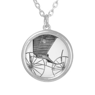 horse-carriages-3-hundred years.jpg round pendant necklace