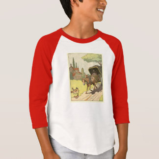 Horse Cart and Driver in the Countryside T-Shirt