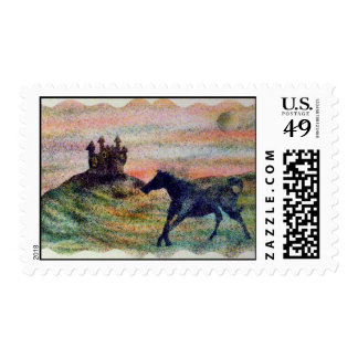 Horse & Castle Postage Stamps