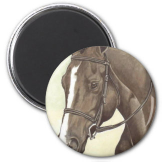 HORSE Champion Appendix QH Mare 2 Inch Round Magnet