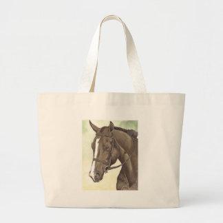 HORSE Champion Appendix QH Mare Large Tote Bag