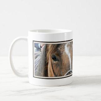 Horse Close Up Classic White Coffee Mug