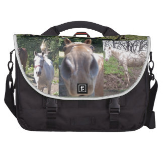 Horse Collage Laptop Bags