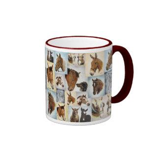 Horse Collage Mug