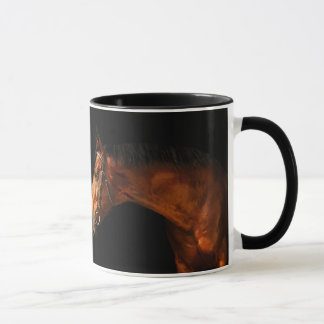 horse collection mug
