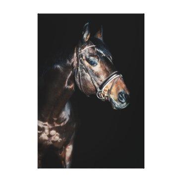 Beach Themed horse collection. sportive canvas print