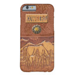 """""""Horse & Colt"""" Western Cowgirl iPhone 6 case"""