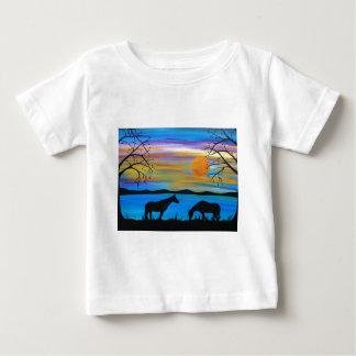 Horse Companions Baby T-Shirt