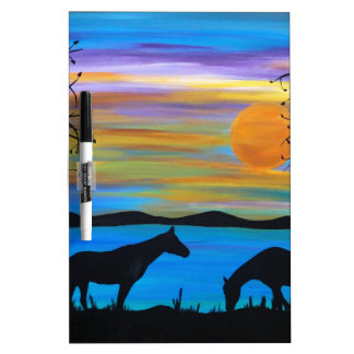Horse Companions Dry-Erase Board