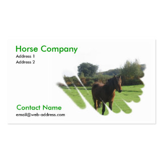 Horse Company Business Card