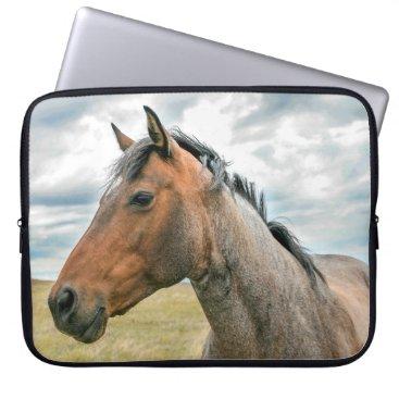 Beach Themed horse computer sleeve