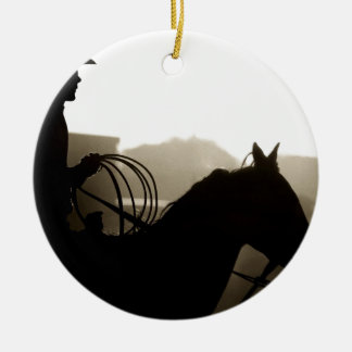 Horse Cowboy Ranch Western Peace Love Destiny Christmas Ornaments