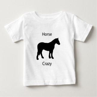 Horse crazy baby T-Shirt