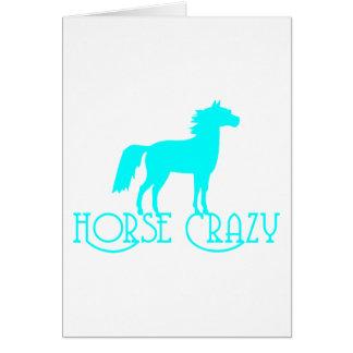 HORSE CRAZY CARD