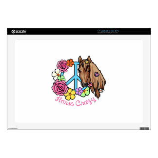 Horse Crazy Decal For Laptop