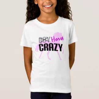 Horse Crazy Girls T-Shirt