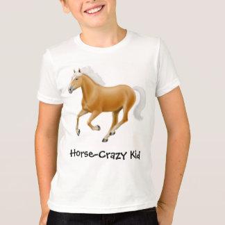 Horse Crazy Kid Kids Ringer T-Shirt