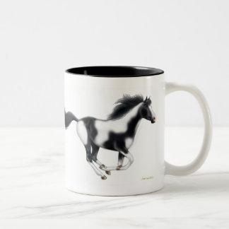 Horse Crazy Paint Horse Mug