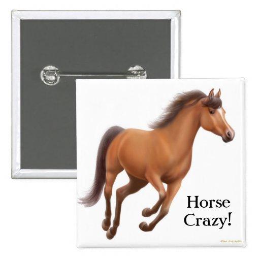 Horse Crazy Pin