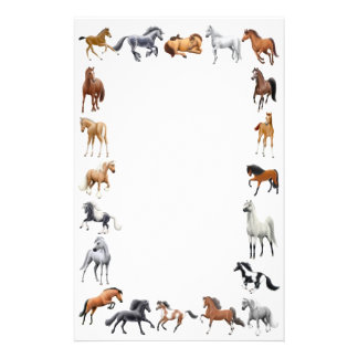 Horse Crazy Stationery