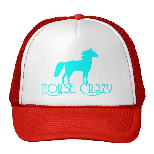 HORSE CRAZY TRUCKER HAT