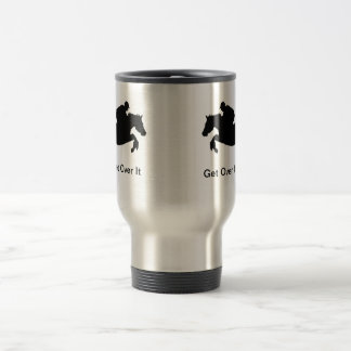 Horse Cross-Country Eventing 15 Oz Stainless Steel Travel Mug