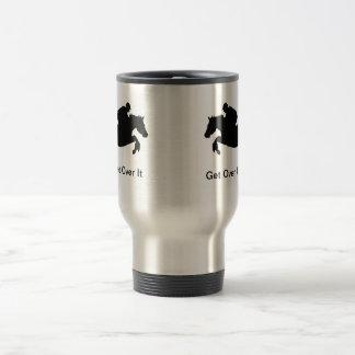 Horse Cross-Country Eventing Travel Mug