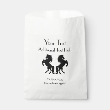 Horse Custom Favor Bag