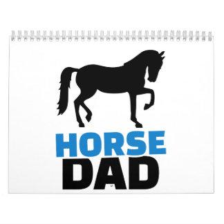 Horse dad calendar