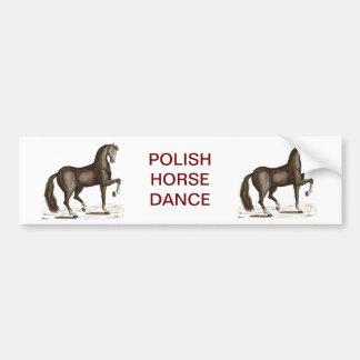 Horse Dance - DANCING HORSE Bumper Sticker