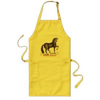 Horse Dance - DANCING HORSE Long Apron