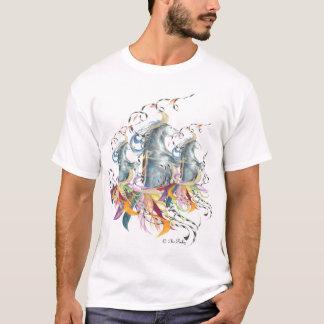 Horse Dancing - triple - kids T-Shirt