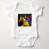 Horse Dashing Baby Bodysuit