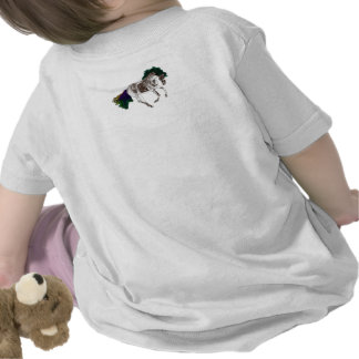 Horse design created exclusively for 2014 babies t shirts