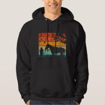 Horse Design Together In The Sunset Hoodie