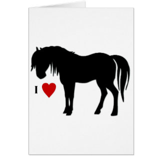 Horse Designs - T shirts & Non Apparels too Card