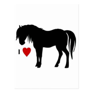 Horse Designs - T shirts & Non Apparels too Postcard