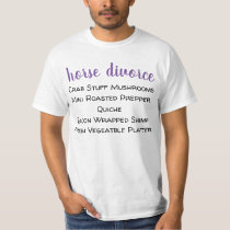 horse divorce T-Shirt