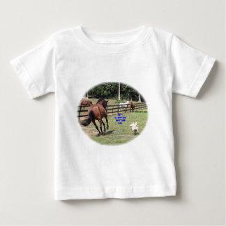 HORSE,DOG BABY T-Shirt