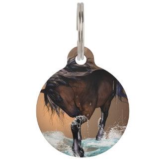 Horse Pet Nametag