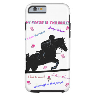 Horse Doodles iPhone 6 Case